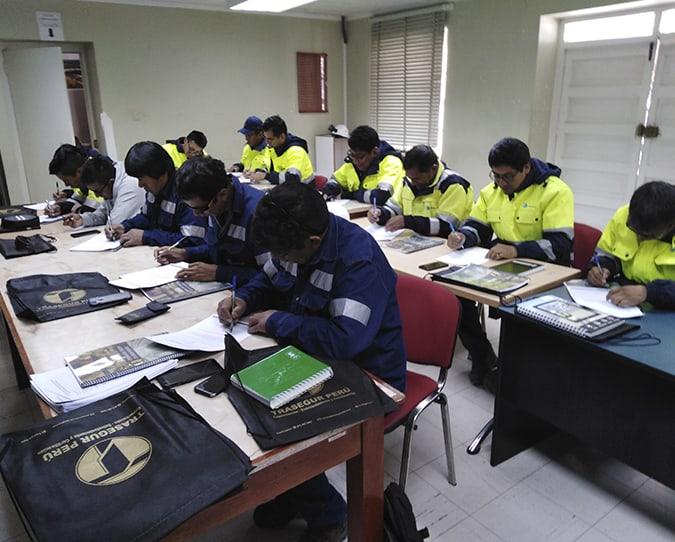 Trasegur Perú | Cursos | Certificaciones | Inspecciones